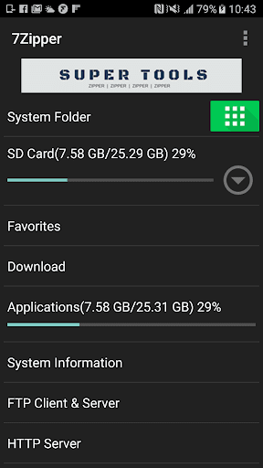7Zipper - File Explorer (zip, 7zip, rar) 3.10.73 Screenshots 3