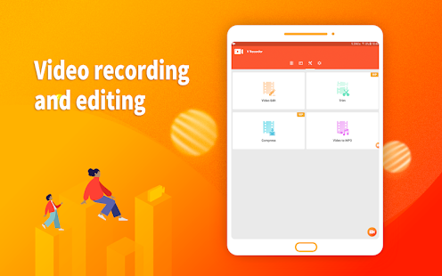 Screen Recorder, Video Recorder, V Recorder Editor