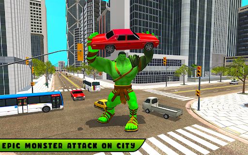 Incredible Monster City Hero Battle Mission 2021 1.1 screenshots 5