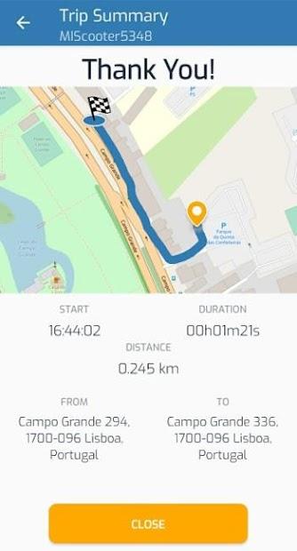 Captura de Pantalla 7 de MOB kickscooters para android