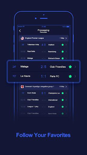WinScore - free football live score.  screenshots 3