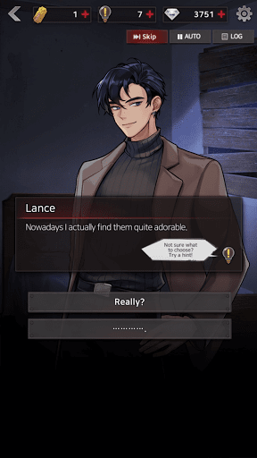 Code Triche Havenless - Your Choice Otome Thriller Game (Astuce) APK MOD screenshots 4