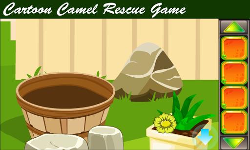 best escape game - cartoon camel rescue game screenshot 2