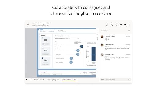 Microsoft Power BIu2013Business data analytics apktram screenshots 14