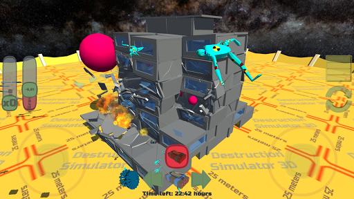 Destruction Simulator 3D Teardown Smash Buildings apkdebit screenshots 1