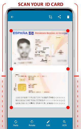 PDF Scanner - Scan documents, photos, ID, passport apktram screenshots 2