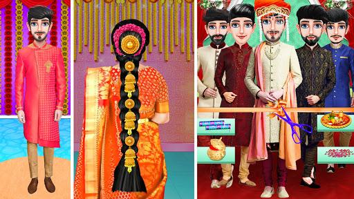 Indian Wedding Girl - Makeup Dressup Girls Game 1.0.3 screenshots 5