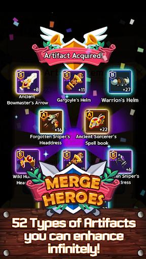 Merge Heroes Frontier: Casual RPG Online 3.3.0 screenshots 18