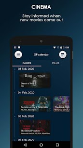 GF Calendar – Games and Films 1.0.2 Mod Android Updated 3