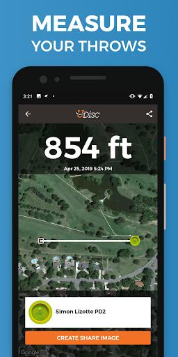 UDisc Disc Golf App Apk 12.0.8 screenshots 4