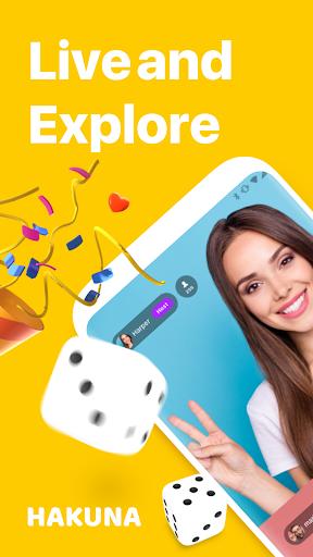 Hakuna: Live Stream, Meet and Chat, Make Friends apktram screenshots 1
