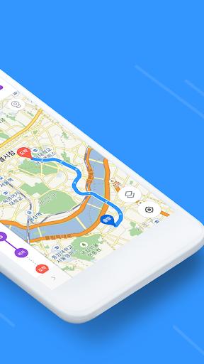 ダウンロード 카카오맵 - 지도 / 내비게이션 / 길찾기 / 위치공유 mod apk 1