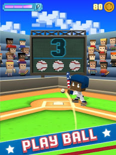 Blocky Baseball  screenshots 1