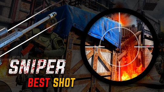 Sniper game Shooter MOD Apk: shooting games: 3D sniper 1