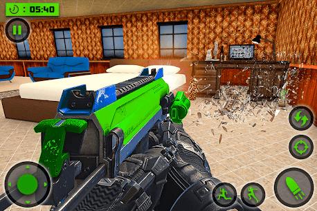 House Destruction Smash Destroy FPS Shooting House Mod Apk (God Mode) 10