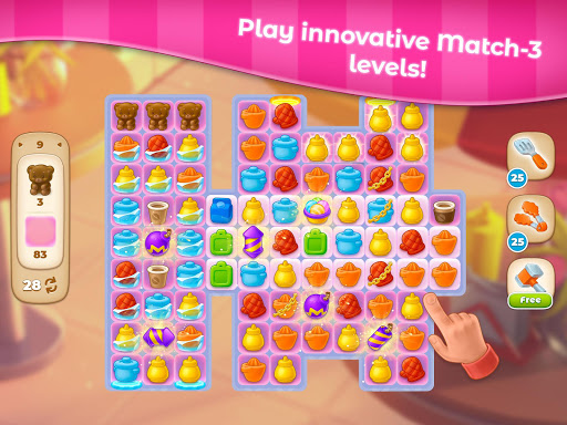 Grand Cafe Storyuff0dNew Puzzle Match-3 Game 2021 2.0.26.1 screenshots 13