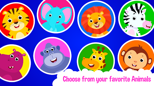 Baby Animal Bathing Game for Kids & Preschoolers apkdebit screenshots 15