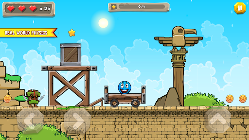 Blue Ball 11: Bounce Ball Adventure 2.1 screenshots 16
