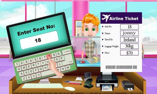 Summer Vacation Airport Trip: Flight Attendant 1.0.5 screenshots 17