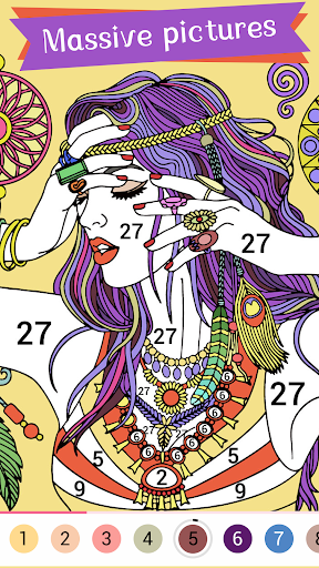 Paintist Plus - Coloring Book&Paint by Number  screenshots 2