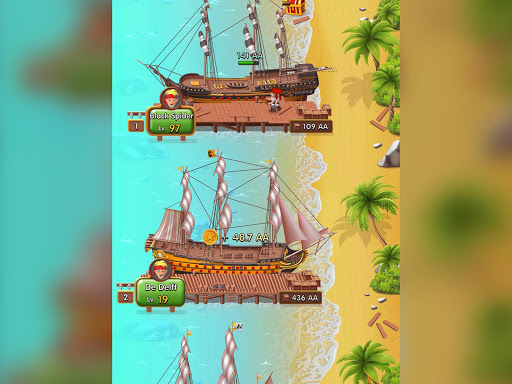 Pocket Ships Tap Tycoon: Idle Seaport Clicker modavailable screenshots 23