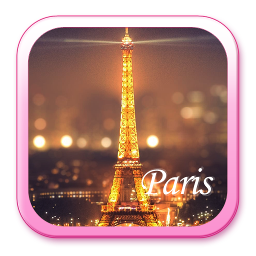 Eiffel Tower theme: Love Paris Launcher themas