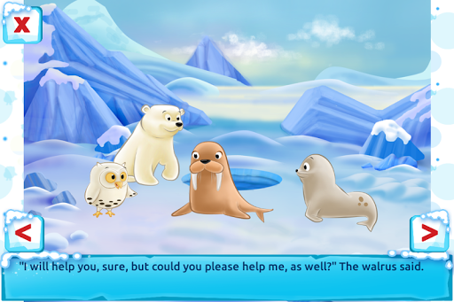Polar Bear Cub - Fairy Tale with Games Free  screenshots 6