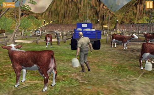 Free Farm Village Tractor Transport Farming Simulation 3