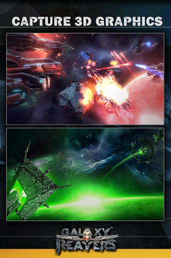 Galaxy Reavers - Starships RTS apkmr screenshots 2