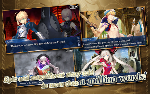 Fate/Grand Order (English) fgo jp apk Lastest Version 2021** 8