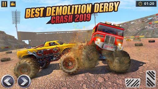 Real Monster Truck Demolition Derby Crash Stunts 3.0.8 screenshots 5