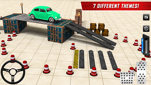 Classic Car Parking Real Driving Test apkpoly screenshots 3