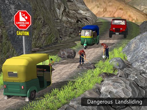 Tuk Tuk Auto Rickshaw Offroad Driving Games 2020 android2mod screenshots 9