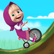 Masha and the Bear: Climb Racing and Car Games