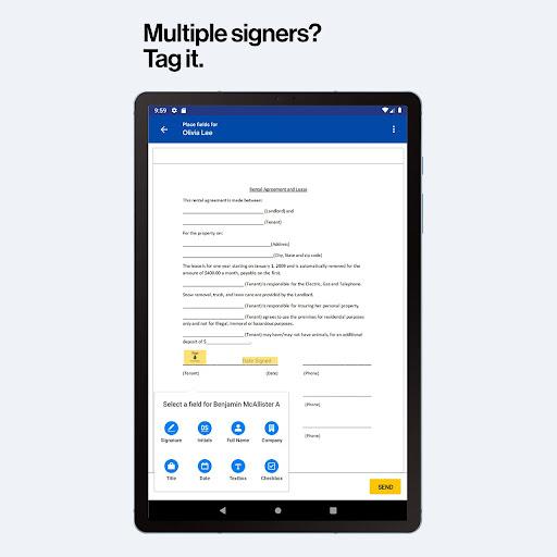 DocuSign - Upload & Sign Docs android2mod screenshots 11