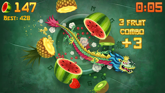 Download Fruit Ninja Mod Apk [Unlimited Money/Free Shopping] 3