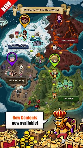 Evil Hunter Tycoon - Nonstop Fighting & Building  screenshots 1