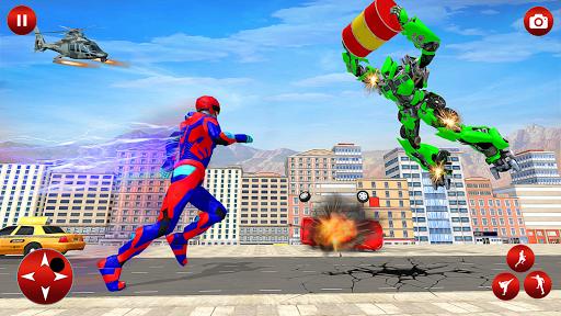 Superhero Robot Speed: Super Hero Game screenshots 10