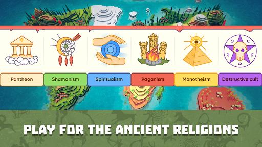 God Simulator. Sandbox strategy game Religion Inc.  screenshots 1