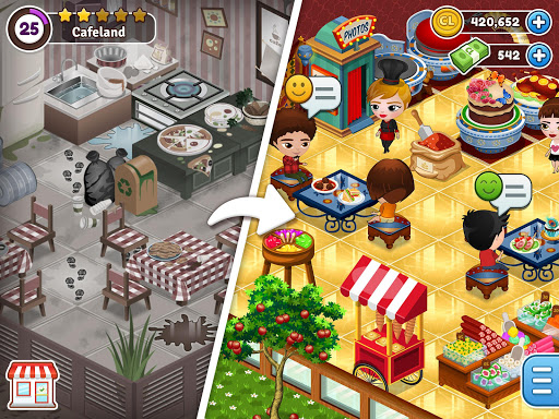 Cafeland - World Kitchen goodtube screenshots 1