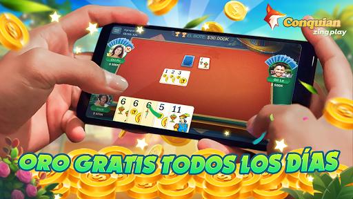 Conquian Zingplay: el mejor juego de cartas gratis  screenshots 3