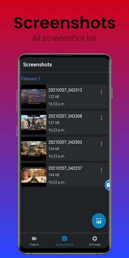 Screen Recorder hack tool