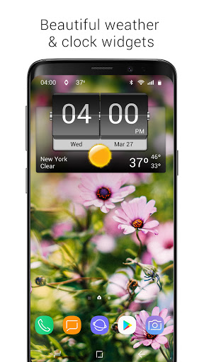 3D Flip Clock & Weather 5.91.10 screenshots 1