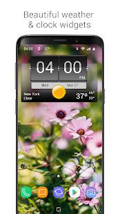 3D Flip Clock & Weather 5.96.5 Screenshots 1