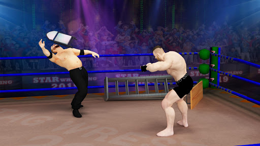 Tag Team Wrestling Games: Mega Cage Ring Fighting modavailable screenshots 7