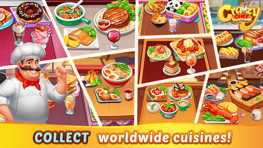 Crazy Chef: Fast Restaurant Cooking Games  screenshots 12