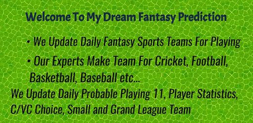 My Dream Fantasy Prediction APK 0