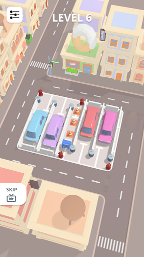 u200eCar Parking Puzzle - City Game android2mod screenshots 7