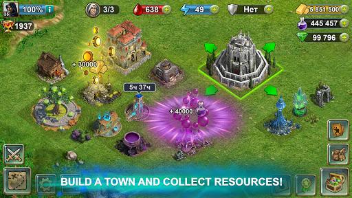 Blood of Titans: Quest & Battle Fantasy CCG screenshots 5