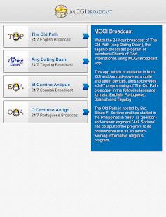 MCGI Broadcast